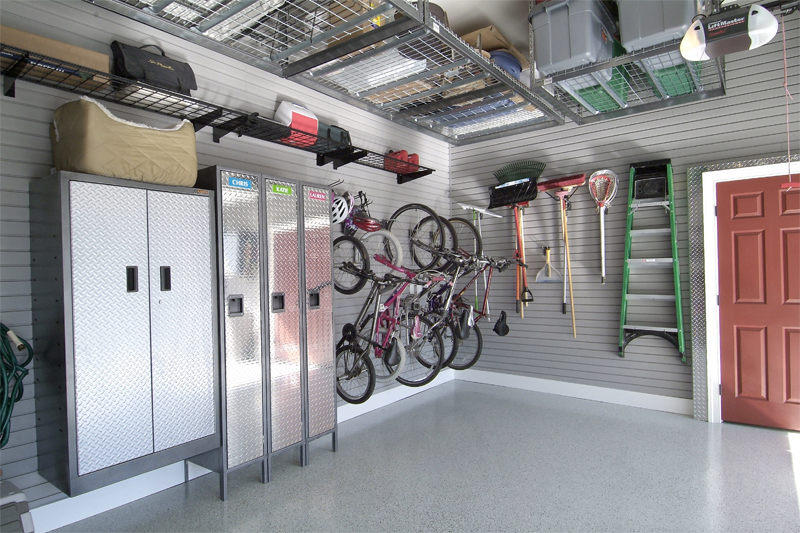 Clean Organized Garage