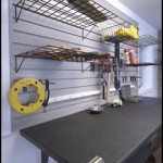 Garage Basket Shelving