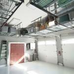 Inside a Clean Garage