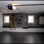 New floor in garage