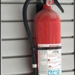 Fire Extinguisher on Hook
