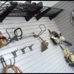 Hooks for Storage in Garage