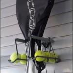 Hooks for Tennis Racket Storage