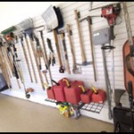 Shelving for Tools in Garage