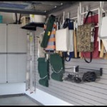 Wall Panels in Home Garage